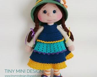 Ravelry: Ballerina Doll pattern by Amigurumi Today | 270x340