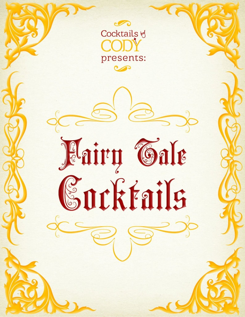 Fairy Tale Cocktails. image 0