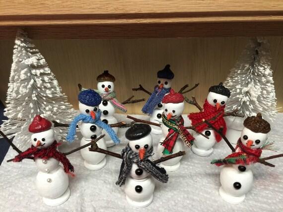 Flurry the Snowman Mr Fairy Garden Christmas Miniature