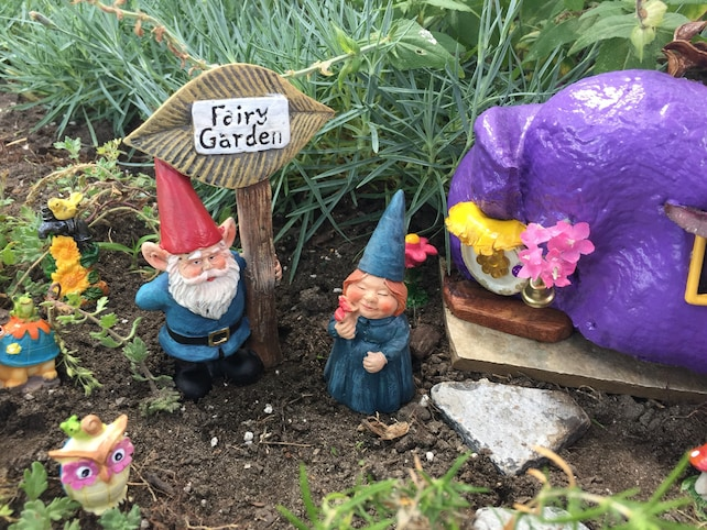 Miniature Gnome Couple Mr. U0026 Mrs. Gnome Miniature Garden | Etsy