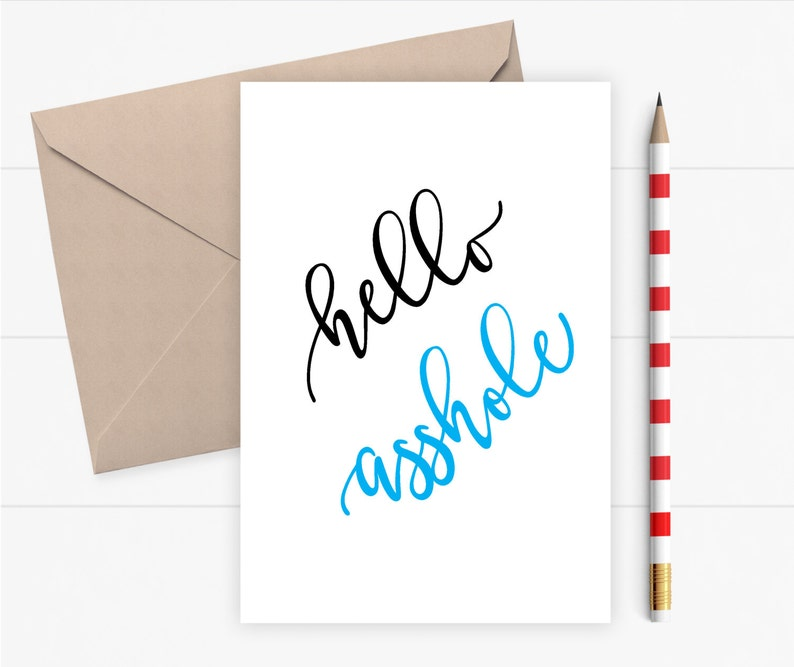 Funny Birthday Card Funny Greeting Card For Friend Boss