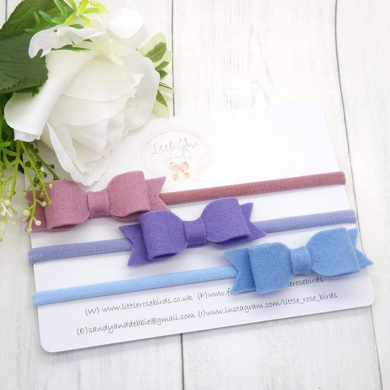 Baby Headbands and Bows Girls Hair Accessories Hair Bow Set Baby Bows -Newborn Headband Baby Headband Baby Headbands Hair Clips