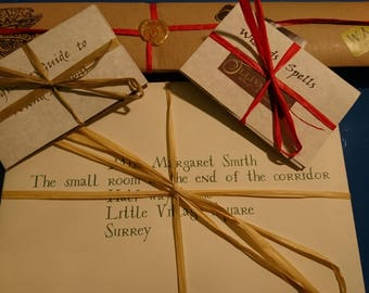 Wizards Wand  with Personalized Acceptance Letter. Plus free spells list and wand guide.
