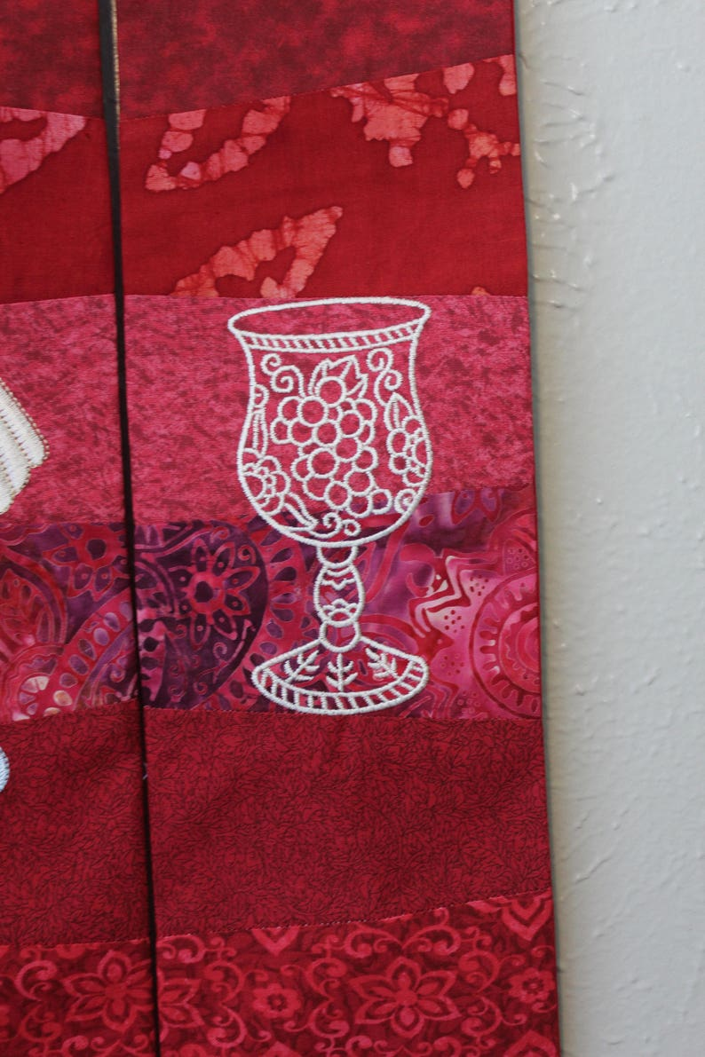 red pieced shell stole for pentecost and ordination  etsy