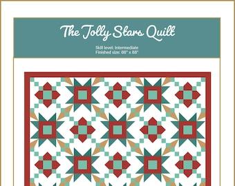 Jolly Stars Quilt Pattern