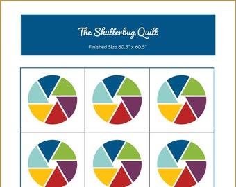 Shutterbug Quilt Pattern | Digital Download