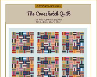Crosshatch Quilt Pattern | Classic Beginner Series