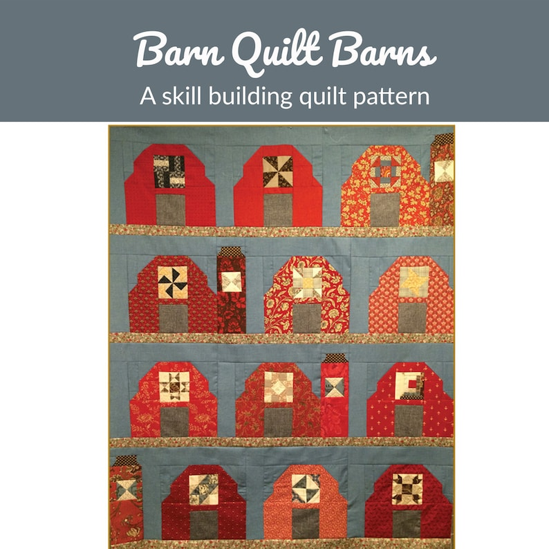 The Barn Quilt Barns Quilt Pattern  quilt pattern image 0