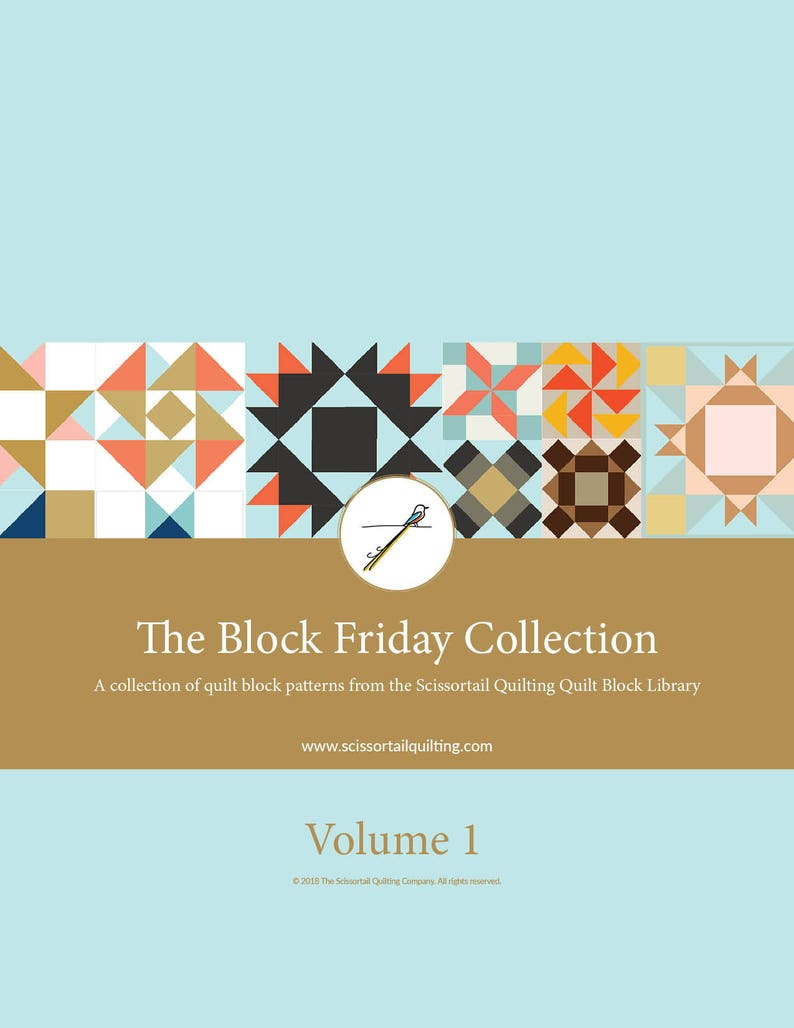 Block Friday Volume 1  A Collection of Quilt Block Patterns image 0