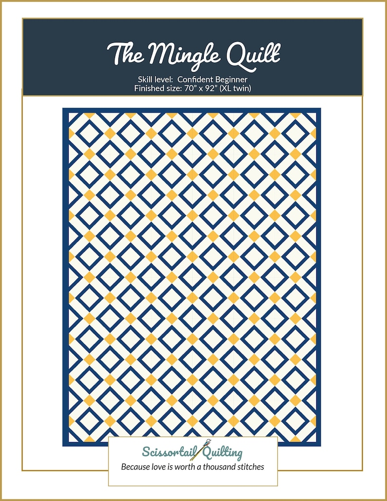 The Mingle Quilt Pattern image 0