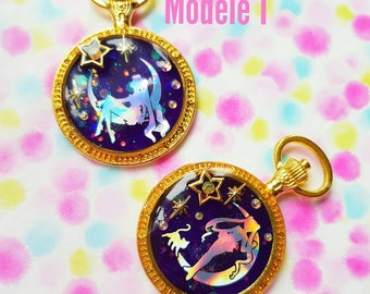 "Resin necklace "" Sailor moon """