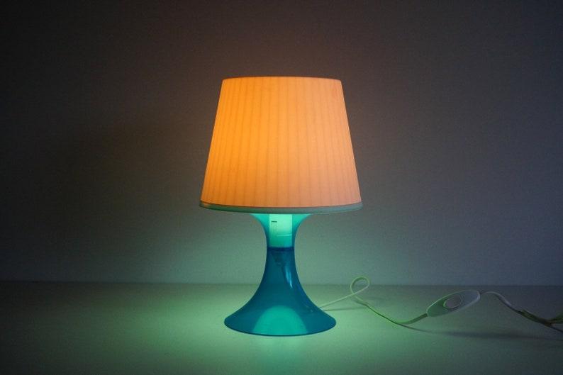 Piano lamp Night stand lamp Romantic light Vintage Table Lamp,70 years Antique plastic white Lamp Decorative lamp Desk Lamp