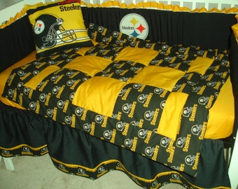 New Steelers bedding | Etsy