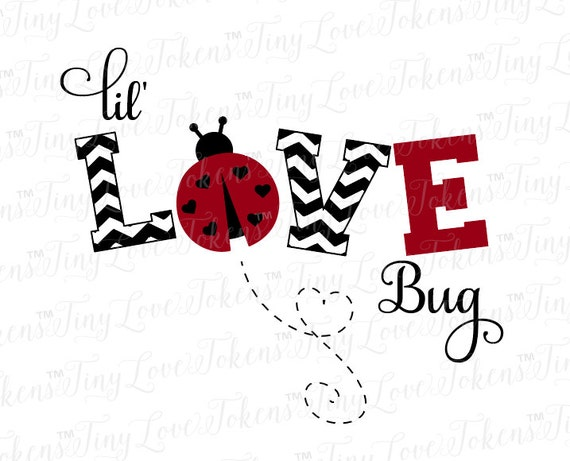 Download Lil Love Bug SVG Design for Silhouette and other craft ...