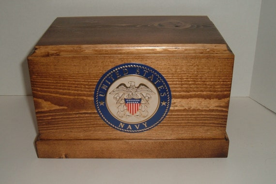 Adult military urn (Navy)