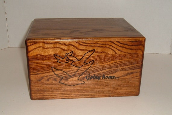Adult cremation urn Going Home