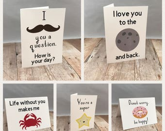 Lunchbox Note Cards, Set of 10