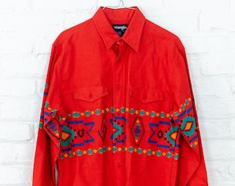 Vintage Wrangler Southwestern Shirt