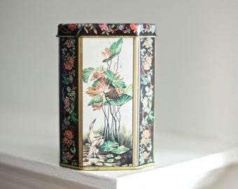 Vintage Asian Decor Tin   Meister Tin