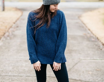 Vintage Eddie Bauer Ribbed Sweater   Medium