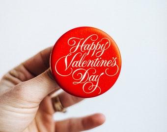 Vintage Valentines Day Button   Vintage Valentine