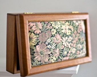 SALE! Vintage Wood Jewelry Box