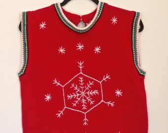 SALE! Christmas Sweater Vest | The BEST Ugly Christmas Sweater Vest