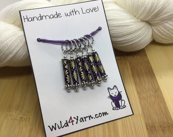 Heart of Courage Stitch Markers
