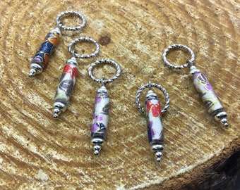 Peace Garden Stitch Markers