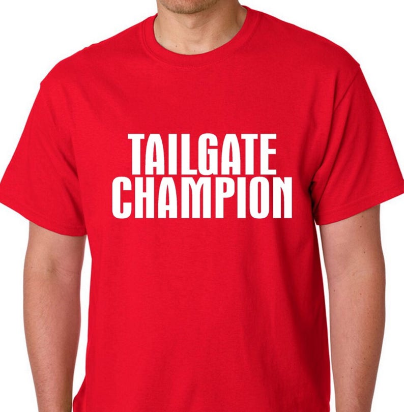 91eb7698 Tailgate Champion Perfect Tailgating Shirt Football | Etsy