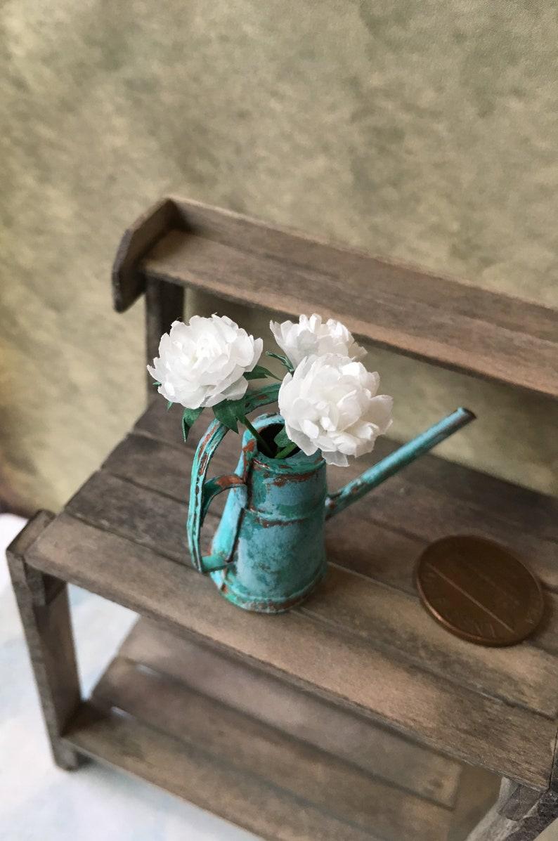 1//12 Scale Miniature Dollhouse Warm Flower Home Decoration
