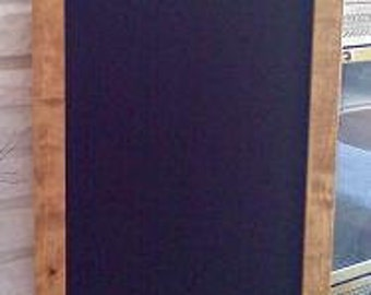 Framed Chalkboard Menu Board 35x18