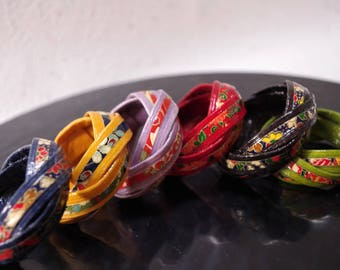 Chopstick rest of 6 colors      Traditional crafts of Japan  unused.