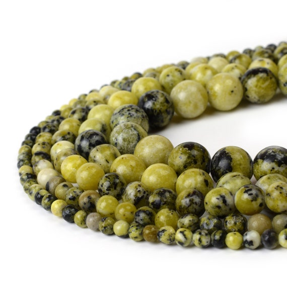 Full 15.5 Strand Natural Round Wholesale 4mm 6mm 8mm 10mm 12mm Natural African Turquoise Beads