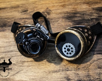 Steampunk Goggles with LED Light