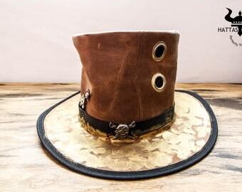 Pirate Pilgrim Steampunk Top Hat