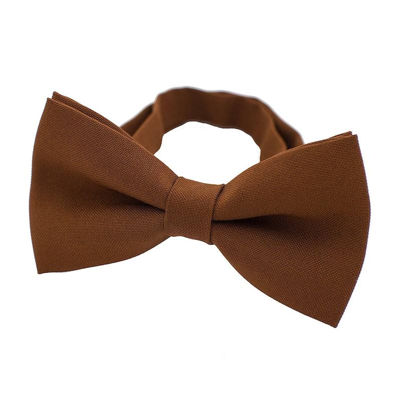 bfb8e619e5da Classic Pre-Tied Bow Tie Formal Solid Tuxedo for Adults & | Etsy