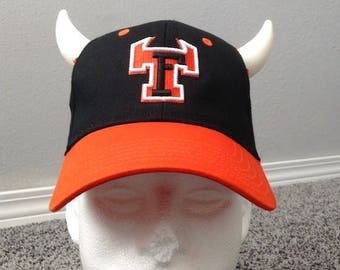 67f1addb40a Monster s University Rival Fear Tech Baseball Hat with Horns