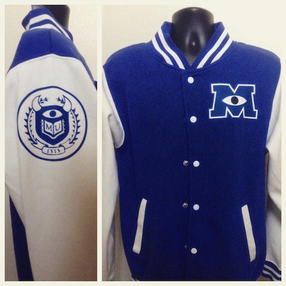 07777a97c74 Monster s University Varsity Jacket