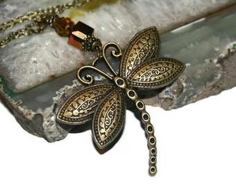 Dragonfly car charm  be7536b13c50