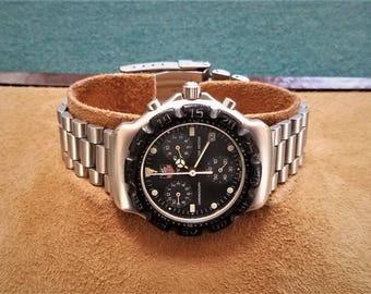 Tag Heuer Formula 1 Chronograph-Black Dial 3 Register