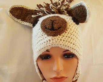 e3a12a0f960 Whimsical Alpaca Hat