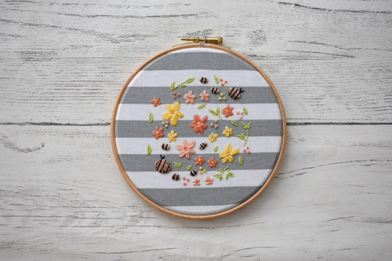The Bee Garden Hoop