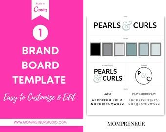 Website Branding Kit, Fitness Logo, Canva Logo, Canva Branding Template, Website Banner, DIY Logo Template, DIY Web Banner, Branding Kit