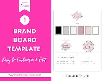 Website Branding Kit, Watercolor Logo, Canva Logo, Canva Branding Template, Website Banner, DIY Logo Template, DIY Web Banner, Branding Kit
