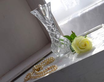 Bohemia 24% pbo Crystal Vase from Czech Republic