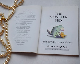 Three Books, The Monster Bed, Little Bear's Trousers & Nursery Rhyme Book, vintage 16 page pocket children's books, British authors birthday