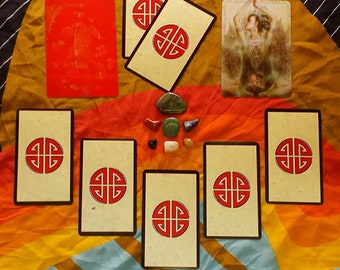 Work It Out Detective Style Tarot + Oracle Card Reading