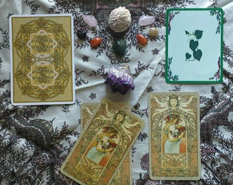 Past Present Future Place Me Here Tarot + Oracle Card Reading