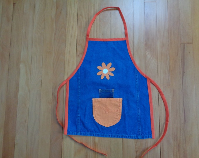 Little Girl's Denim Apron